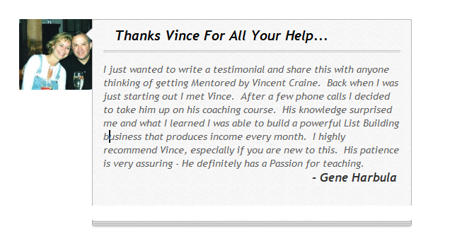 Vinces Coaching